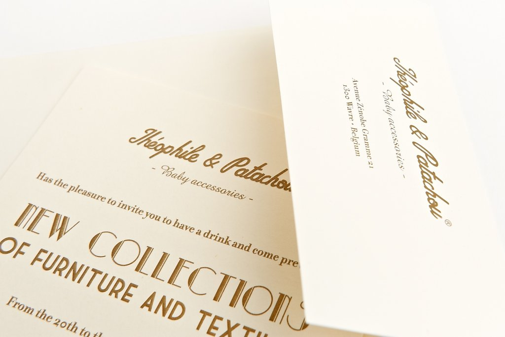 Invitations Théophile & Patachou