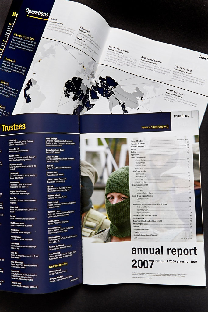 Rapport Annuel Crisis Group