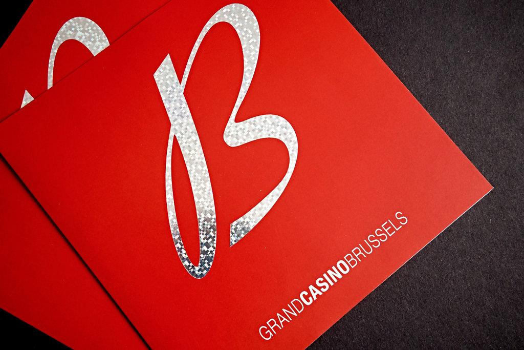 Invitation inauguration Grand Casino Brussels